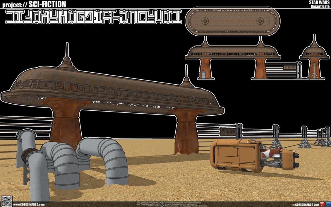 Desert gate by cosedimarco