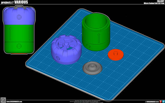 Micro Fusion Cell for 3D Printer
