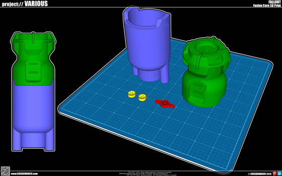 Fusion Core 3D print