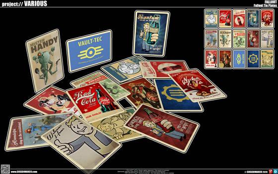 Fallout Tin Plates