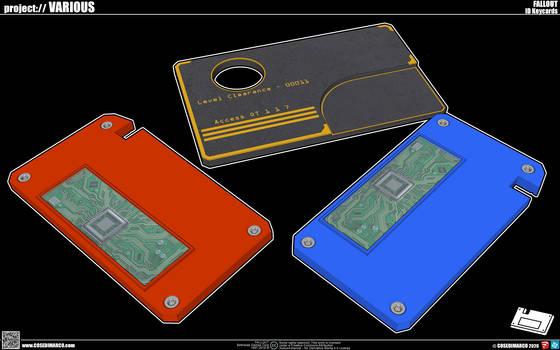 Fallout ID Keycards