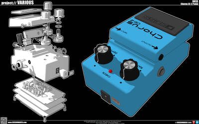 Chorus CE-2 BOSS Pedal
