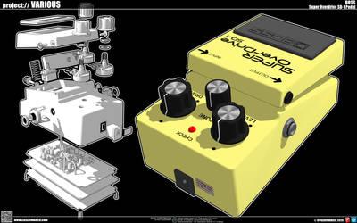 Super Overdrive SD-1 BOSS Pedal
