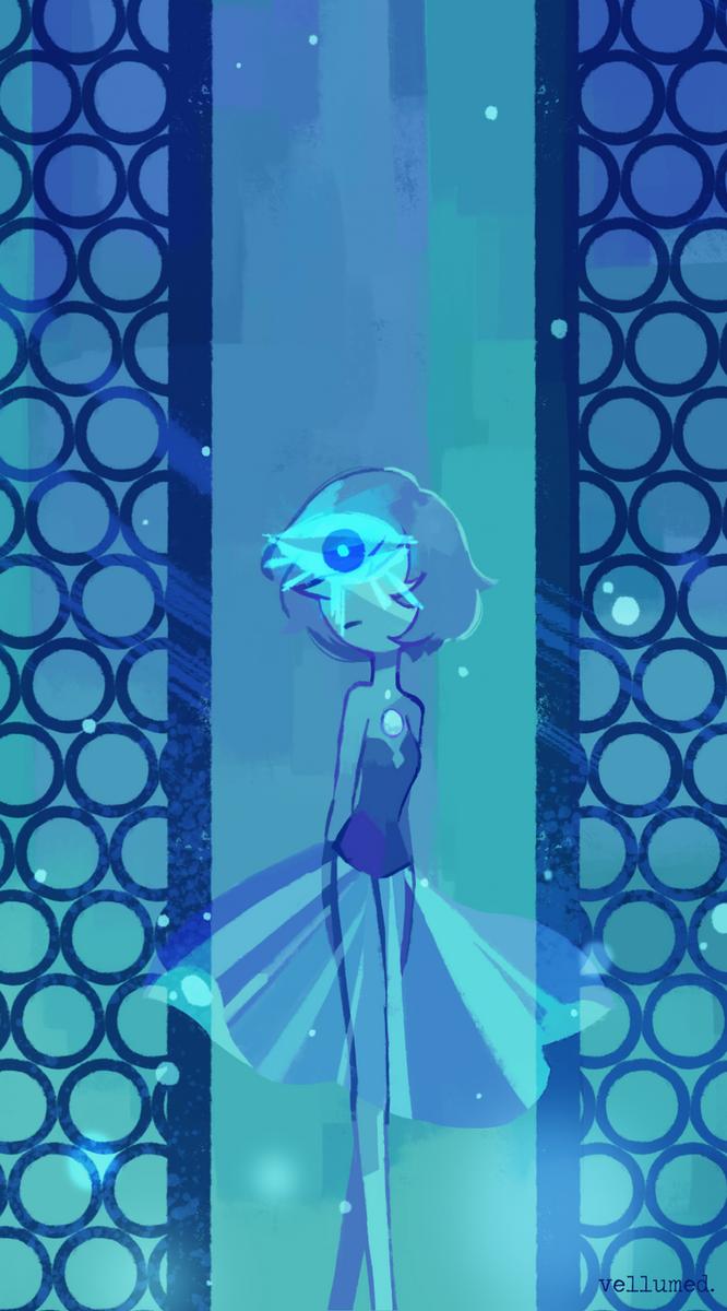 [Blue Diamond's Pearl •Steven Universe• Cartoon Network Studios]