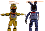 Withered Chica And Bonnie
