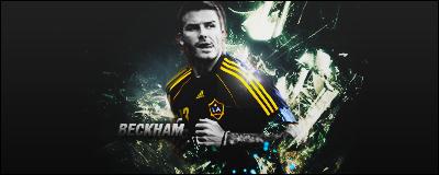 Firma Beckham by zebastiian