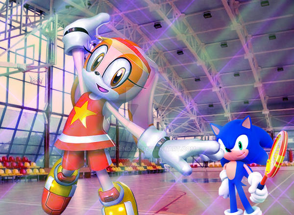 Sonic and Cream in the Sport Room by dj ReNDaY. Sonic and Cream in the Sport Room by dj ReNDaY on DeviantArt