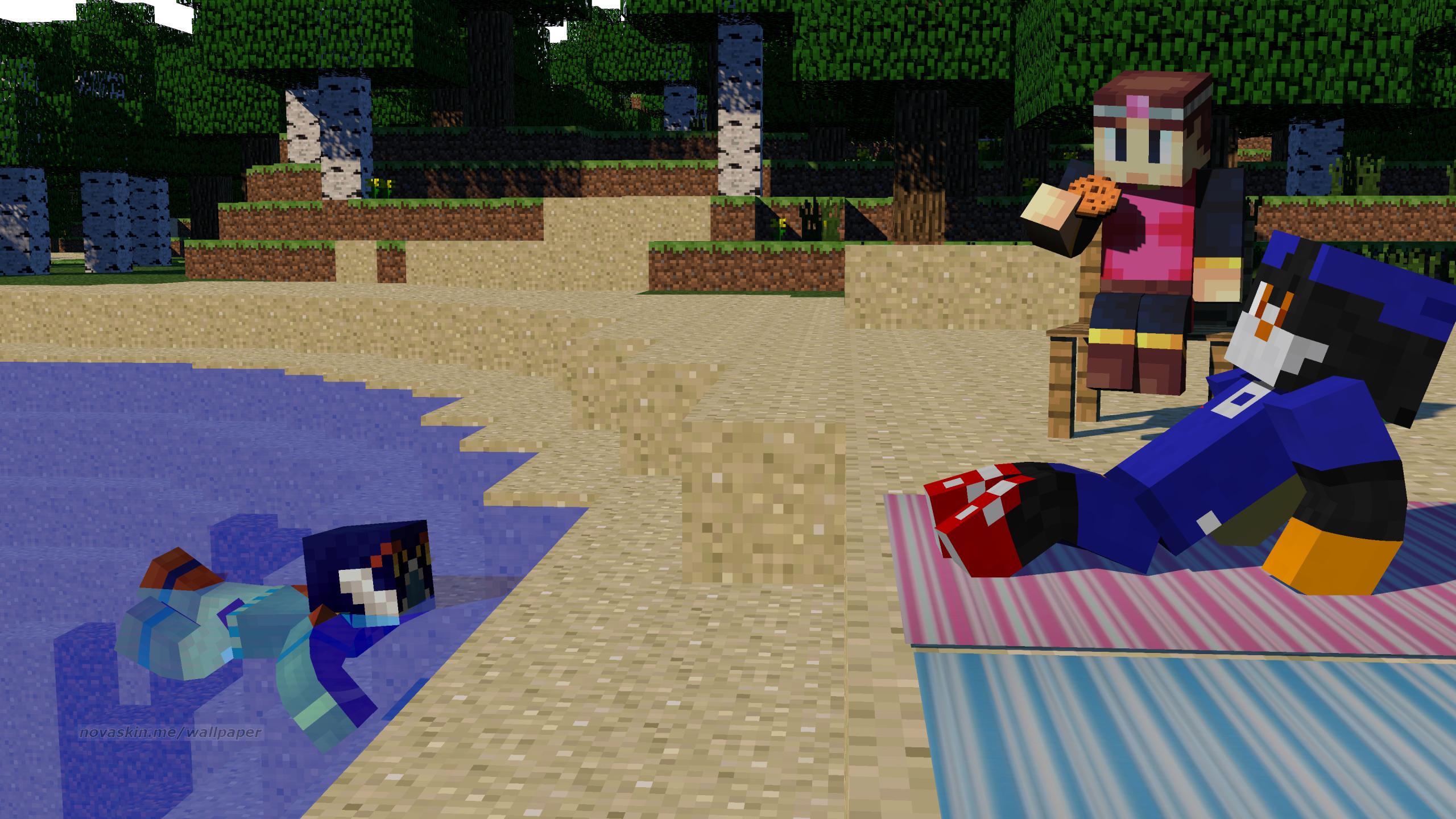 Summer In Minecraft Style By Dj Renday On Deviantart