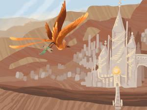 Concept Art #1 | Kingdom of Fire by CloudCat1