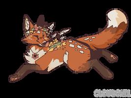 F2U Spring Red Fox (page deco)