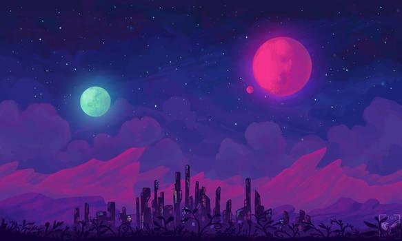 Alternian Sky | Zoom Background