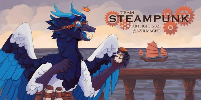 TEAM STEAMPUNK   ArtFight Banner