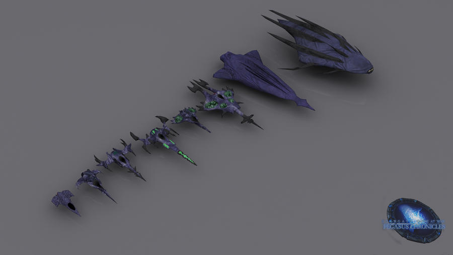 Wraith Fighters by SGMG-Klon