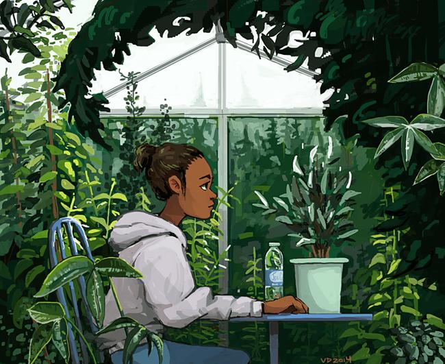 botany break by DefineTheSky