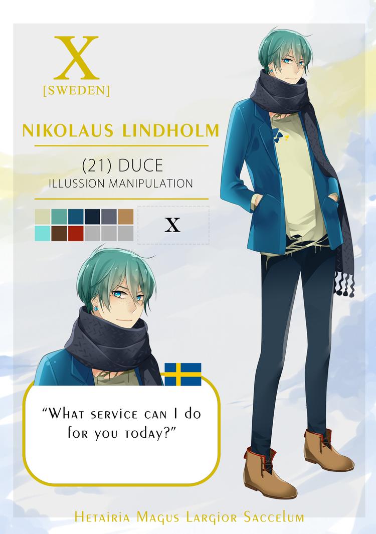 HMLS: Nikolaus Lindholm by gededude