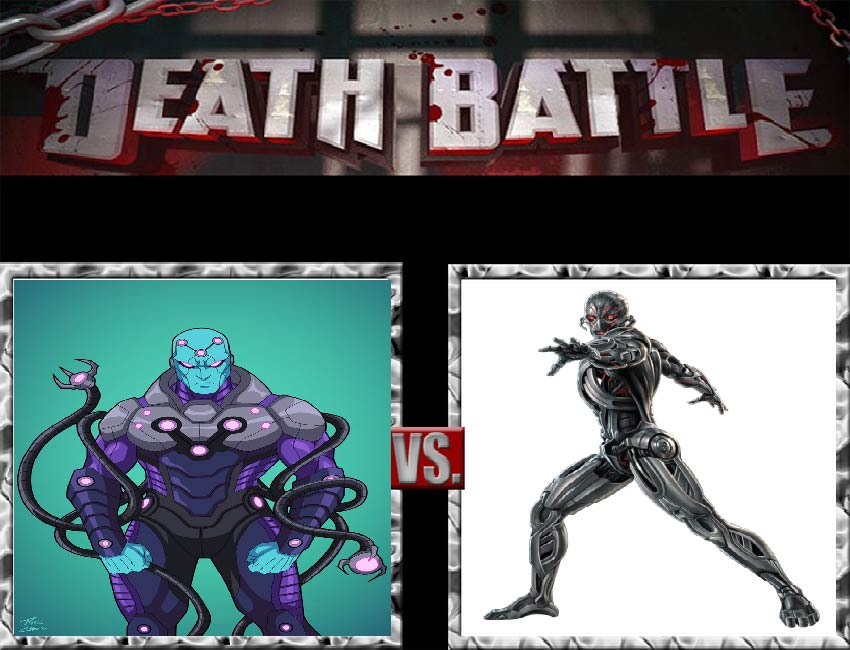 Request #7 Brainiac vs Ultron by LukeAlanBundesen
