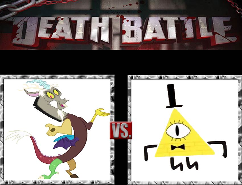 Request #8 Discord vs Bill Cipher by LukeAlanBundesen