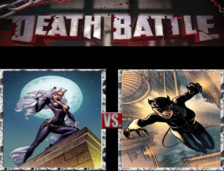 Request #13 Black Cat vs Catwoman by LukeAlanBundesen
