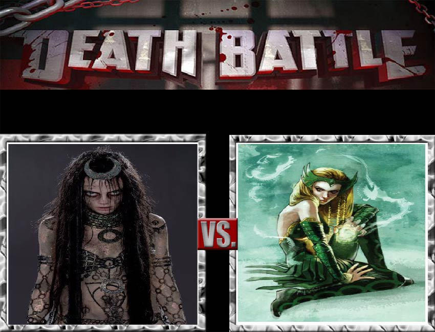 Request #17 Enchantress vs Enchantress by LukeAlanBundesen
