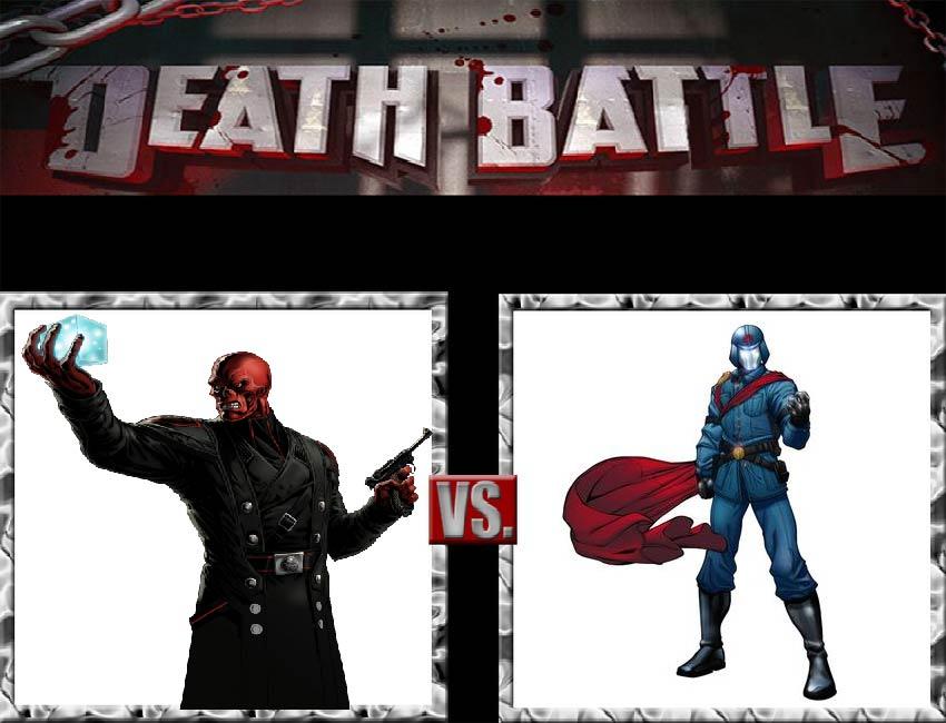 Request #19 Red Skull vs Cobra Commander by LukeAlanBundesen