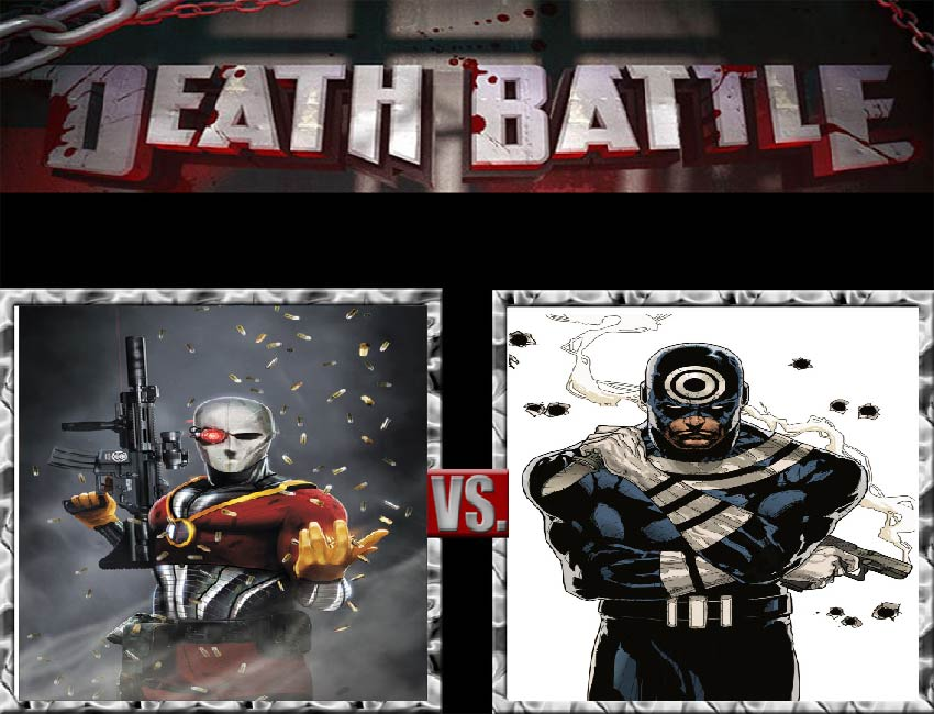 Request #24 Deadshot vs Bullseye by LukeAlanBundesen