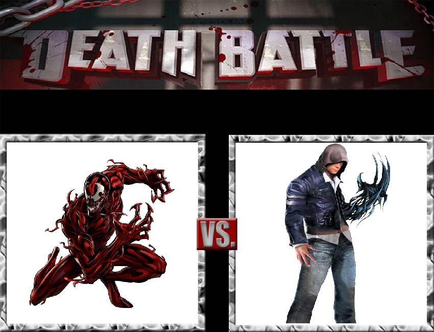 Request #25 Carnage vs Alex Mercer by LukeAlanBundesen