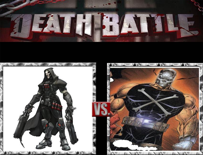 Request #34 Reaper vs Crossbones by LukeAlanBundesen