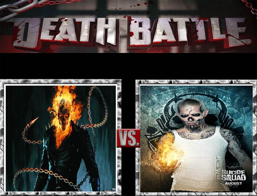 Request #35 Ghost Rider vs El Diablo by LukeAlanBundesen