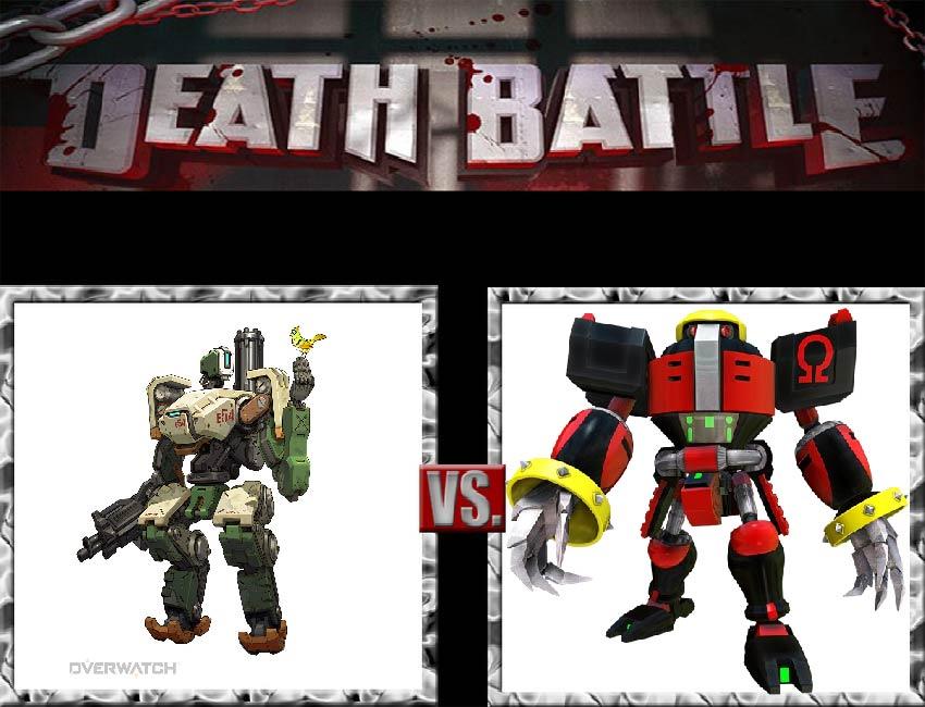 Request #38 Bastion vs Omega by LukeAlanBundesen