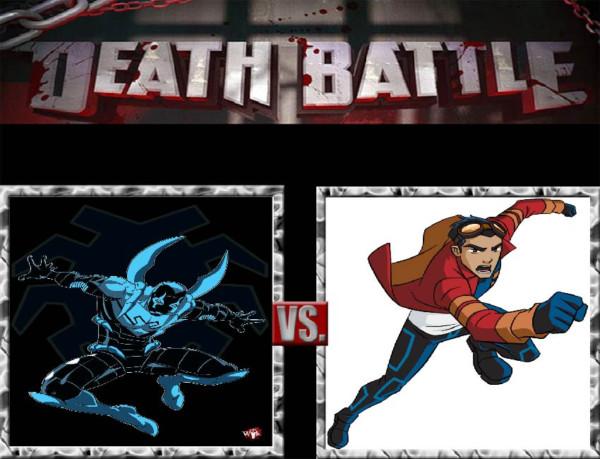 Request #42 Blue Beetle vs Rex Salazer by LukeAlanBundesen