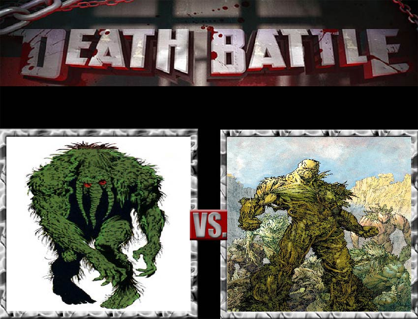 Request #43 Man-Thing vs Swamp Thing by LukeAlanBundesen