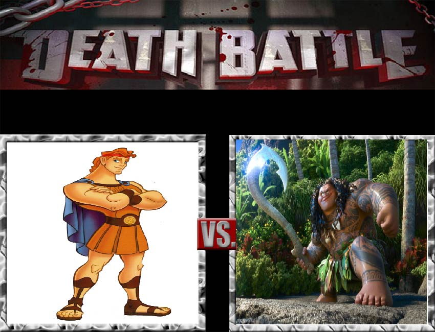 Request #45 Hercules vs Maui by LukeAlanBundesen