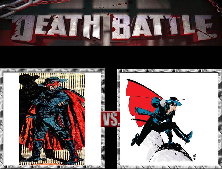 Request #47 El Diablo vs Zorro by LukeAlanBundesen