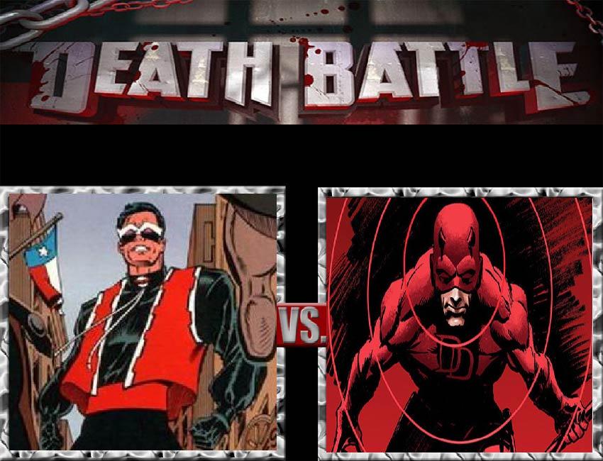 Request #48 El Diablo vs Daredevil by LukeAlanBundesen