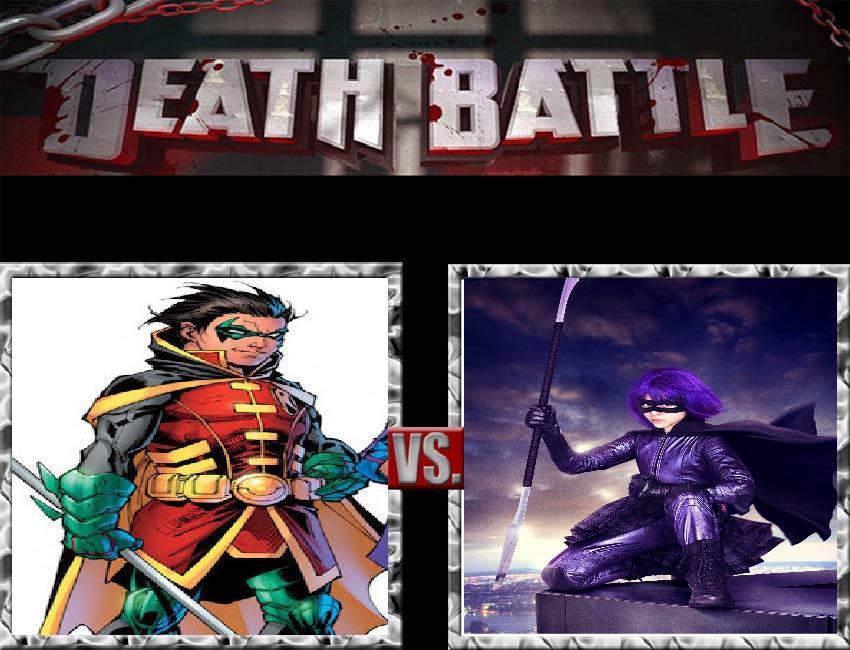 Request #55 Robin vs Hit-Girl by LukeAlanBundesen