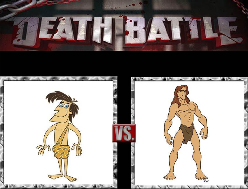 Request #56 George vs Tarzan by LukeAlanBundesen