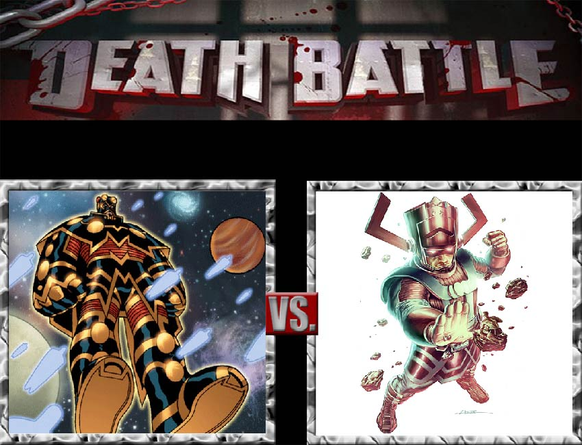 Request #57 Imperiex vs Galactus by LukeAlanBundesen