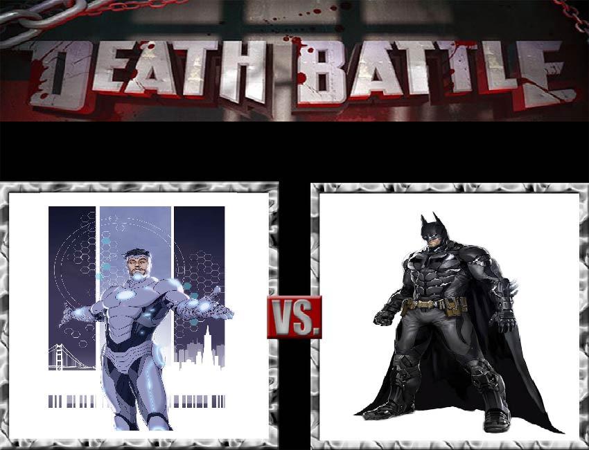 Request #58 Iron Man vs Batman by LukeAlanBundesen