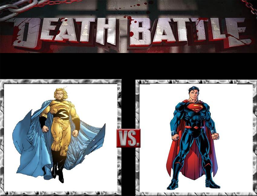 Request #60 Sentry vs Superman by LukeAlanBundesen