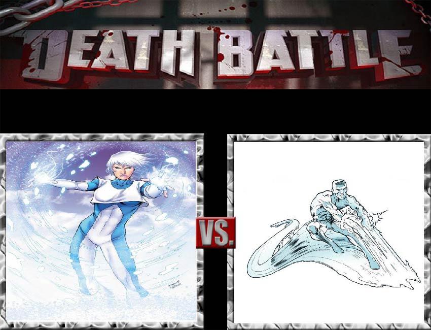 Request #72 Ice vs Iceman by LukeAlanBundesen