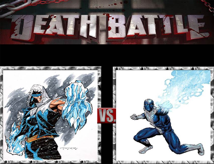 Request #82 Captain Cold vs Blizzard by LukeAlanBundesen
