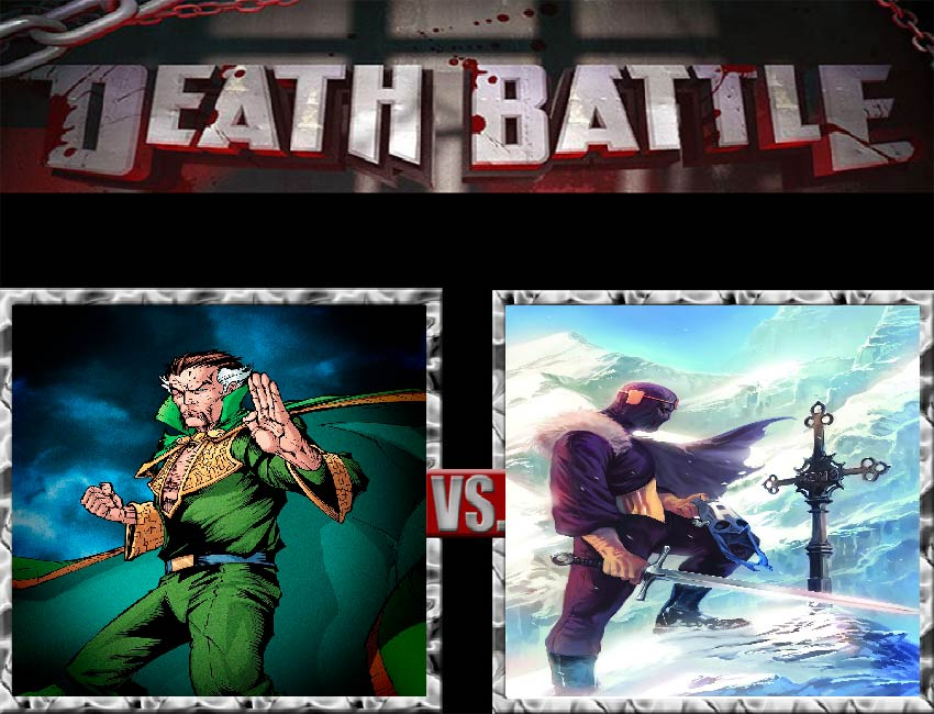 Request #84 Ra's al Ghul vs Baron Zemo by LukeAlanBundesen