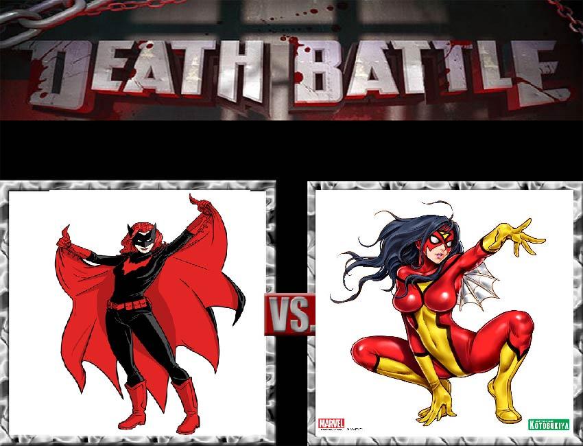 Request #87 Batwoman vs Spider-Woman by LukeAlanBundesen