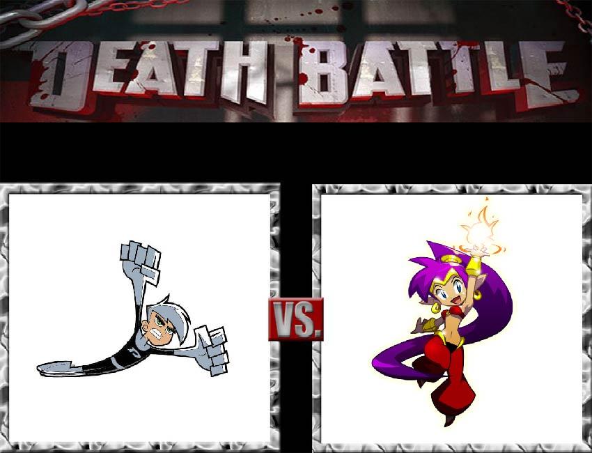 Request #99 Danny vs Shantae by LukeAlanBundesen