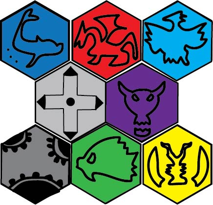 Marks of the Digimon Families by LukeAlanBundesen