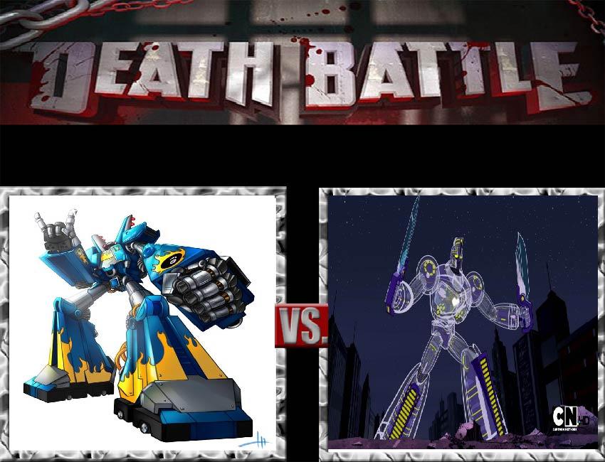 Request #116 Megas vs Titan by LukeAlanBundesen