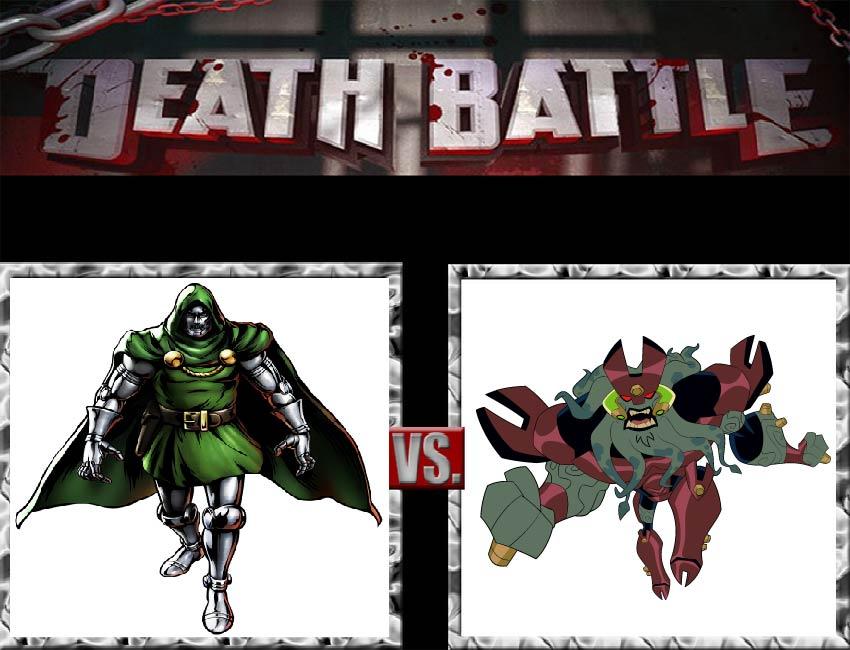 Request #126 Doctor Doom vs Vilgax by LukeAlanBundesen