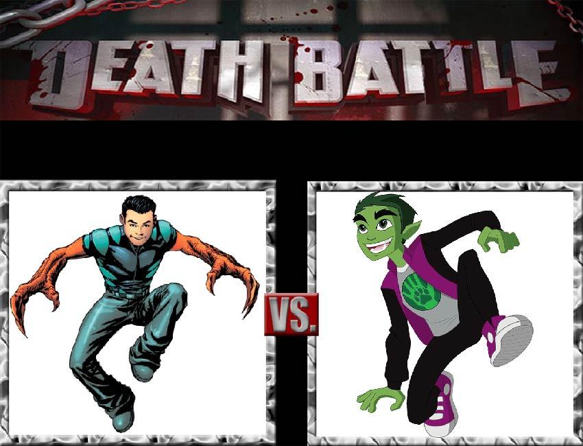 Request #130 Reptil vs Beast Boy by LukeAlanBundesen