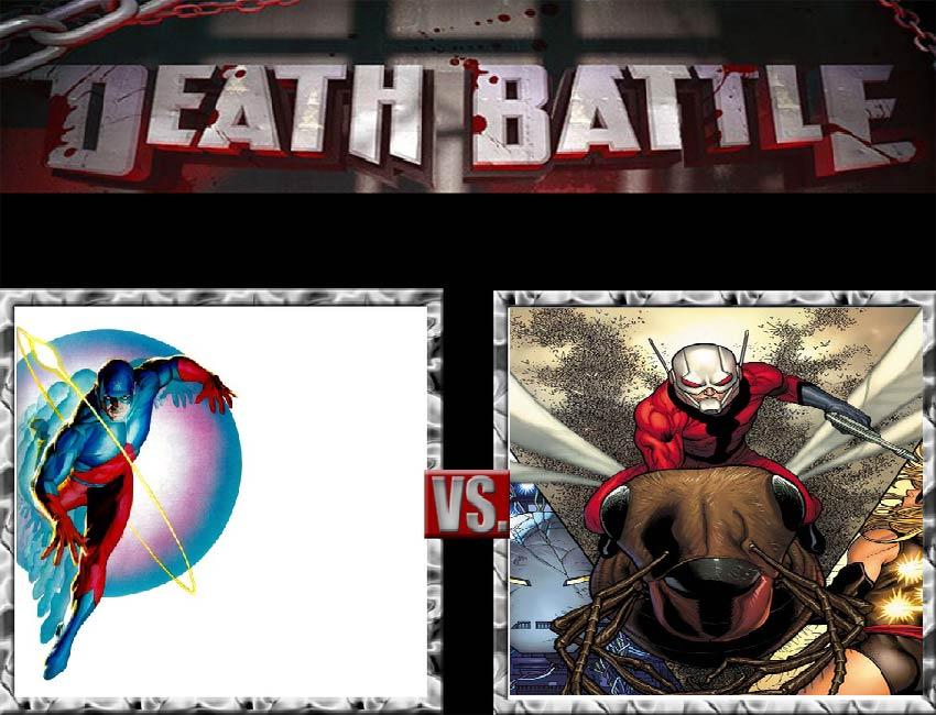 Request #135 The Atom vs Ant-Man by LukeAlanBundesen