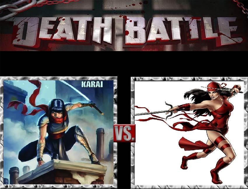 Request #141 Karai vs Elektra by LukeAlanBundesen